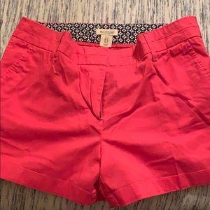 British Khaki coral shorts